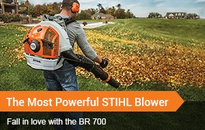 The Most Powerful STIHL Blower